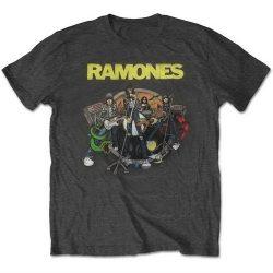 RAMONES: Road To Ruin (póló)