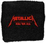 METALLICA: Kill 'em All (frottír csuklószorító)