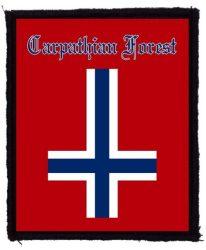 CARPATHIAN FOREST: Norway (75x95) (felvarró)