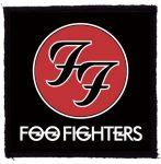 FOO FIGHTERS: Logo (95x95) (felvarró)