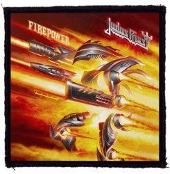 JUDAS PRIEST: Firepower (95x95) (felvarró)
