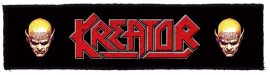 KREATOR: Logo Superstrip (20 x 5 cm) (felvarró)