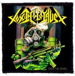 TOXIC HOLOCAUST: From The Ashes (95x95) (felvarró)