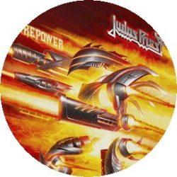 JUDAS PRIEST: Firepower (jelvény, 2,5 cm)