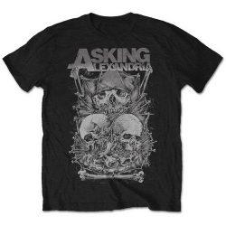 ASKING ALEXANDRIA: Skull Stack (póló)