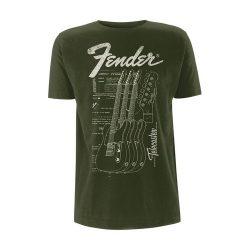 FENDER: Telecaster (póló)