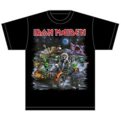IRON MAIDEN: Knebworth Moon Buggy (póló)