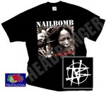NAILBOMB: Point Blank (póló)