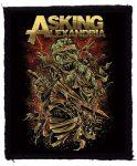 ASKING ALEXANDRIA: Mummy (75x95) (felvarró)