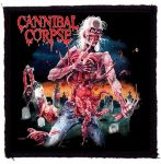 CANNIBAL CORPSE: Eaten Back To Life (95x95) (felvarró)
