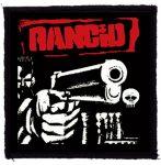 RANCID: Gun (95x95) (kisfelvarró)