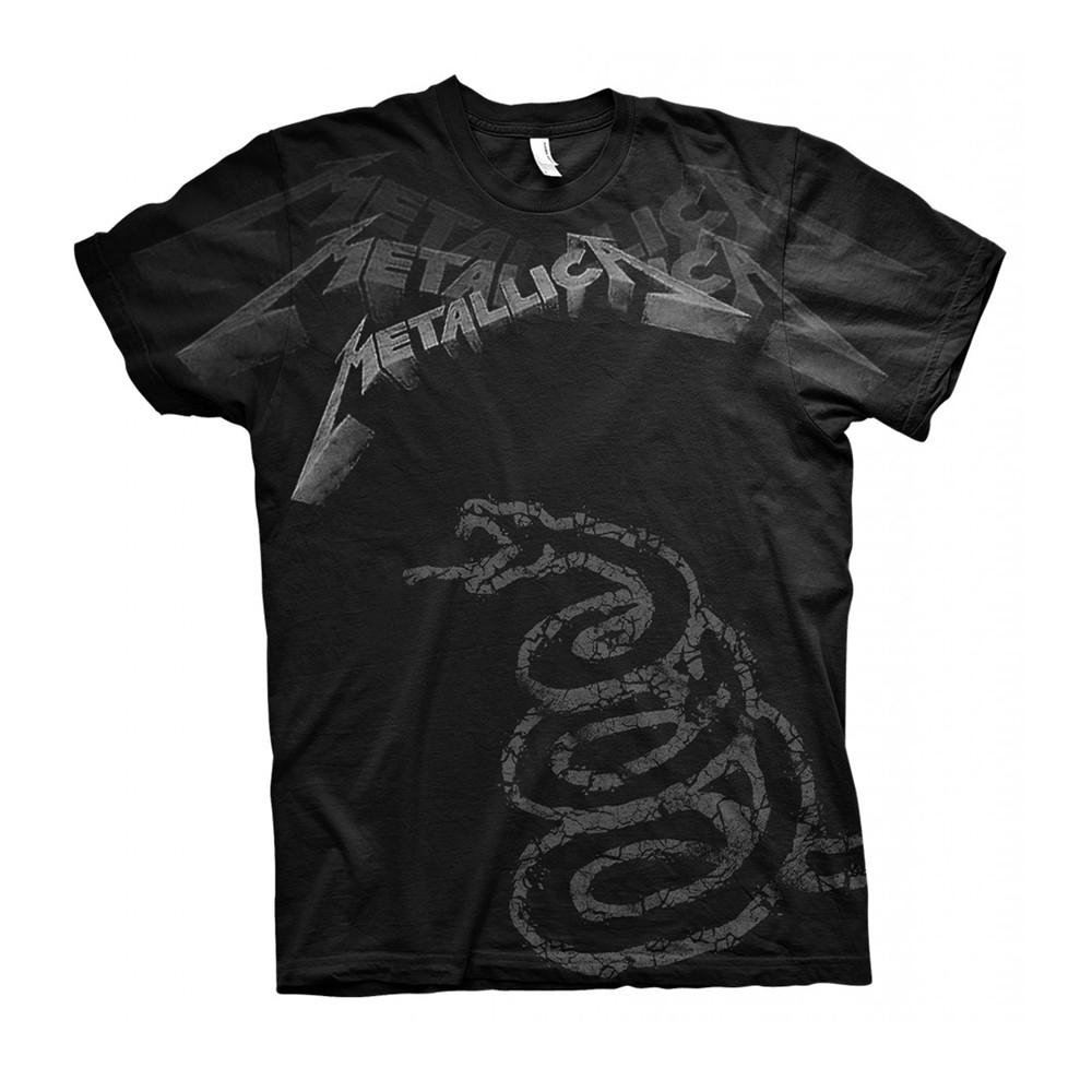 338dbf78aa METALLICA: Black Album Faded (póló) - Headbanger Webáruház