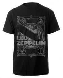 LED ZEPPELIN: Vintage Print LZ1 (póló)