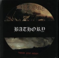 BATHORY: Blood Fire Death (LP, picture disc)