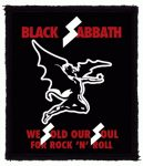 BLACK SABBATH: We Sold Our Souls (80x95) (felvarró)