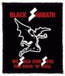 BLACK SABBATH: We Sold Our Souls (80x95) (felvarró)