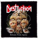 DESTRUCTION: Release From Agony (95x95) (felvarró)