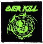 OVERKILL: Krushing Skull (95x95) (felvarró)