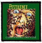 PESTILENCE: Consuming Impulse (95x95) (felvarró)