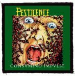 PESTILENCE: Consuming Impulse (95x95) (felvarró)