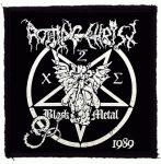 ROTTING CHRIST: Black Metal (95x95) (felvarró)