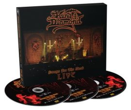 KING DIAMOND: Songs For The Dead Live (2DVD+CD)