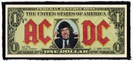 AC/DC: Bank Note (150x65) (felvarró)