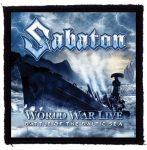 SABATON: World War Live (95x95) (felvarró)