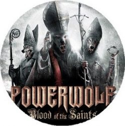 POWERWOLF: Blood Of The Saints (nagy jelvény, 3,7 cm)