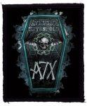 AVENGED SEVENFOLD: AX7 Coffin (90x120) (felvarró)