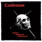 CANDLEMASS: Epicus Domicus Metallicus (95x95) (felvarró)