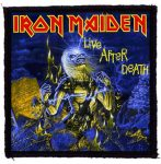 IRON MAIDEN: Live After Death (95x95) (felvarró)