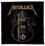 METALLICA: Hetfield Guitar (95x95) (felvarró)