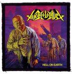 TOXIC HOLOCAUST: Hell On Earth (95x95) (felvarró)