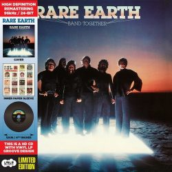 RARE EARTH: Band Together (CD, vinyl replica)