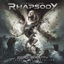 TURILLI/LIONE RHAPSODY: Zero Gravity (CD, +1 bonus, digipack)