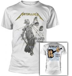 METALLICA: And Justice For All (white) (póló)