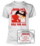 METALLICA: Kill 'em All (white) (póló)
