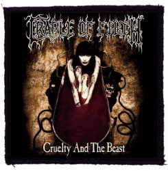 CRADLE OF FILTH: Cruelty And The Beast (95x95) (felvarró)