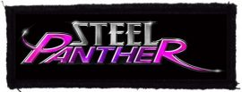STEEL PANTHER: Logo (125x40) (felvarró)