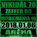 MOBILMÁNIA: Vikidál 70 Zeffer 60 (LP)
