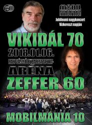 MOBILMÁNIA: Vikidál 70 Zeffer 60 (2DVD+3CD)