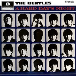 BEATLES: A Hard Day's Night (LP, stereo)