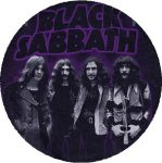 BLACK SABBATH: Master Band (nagy jelvény, 3,7 cm)