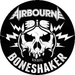 AIRBOURNE: Boneshaker (jelvény, 2,5 cm)