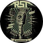 RAMMSTEIN: Radio (jelvény, 2,5 cm)