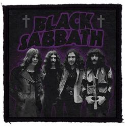 BLACK SABBATH: Master Band (95x95) (felvarró)