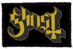 GHOST: Logo (95x60) (felvarró)