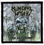 MUNICIPAL WASTE: Slime And Punishment (95x95) (felvarró)