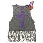 BLACK SABBATH: Cross (női, rojtos trikó)